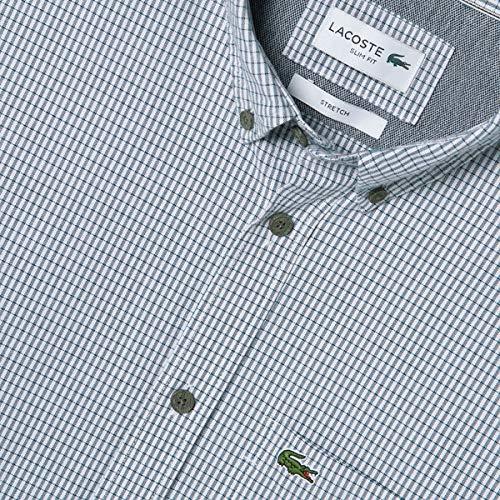 LACOSTE(ラコステ)『ストレッチオックスフォードボタンダウンシャツ』