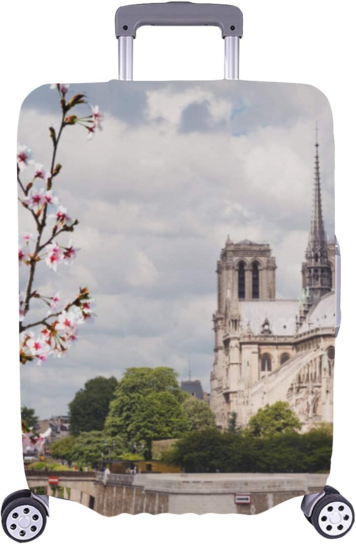 Suitcase free shipping Cover Protectors Holy Sacred Dame Paris All stores are sold Durabl Notre De