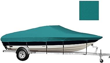 6.25 oz SEMI-Custom Boat Cover for Malibu SUNSETTER 21 XTi Swim Platform I/O 2005-2006