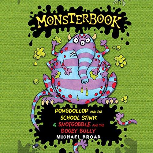 Monsterbook audiobook cover art