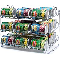 Stackable 36 Can Rack Organizer
