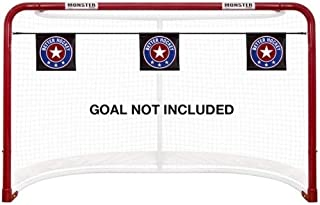 Better Hockey Extreme Goal Targets - Sharp Shooting Training Aid - Helps You Score More Goals - Installed in Seconds - Fits Any Regulation Size Nets - Used by The Pros