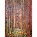 Wee Blue Coo Gustav Klimt Tannenwald I Old Master Painting