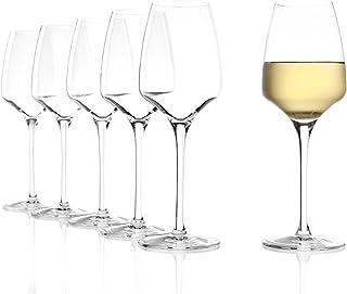 Stölzle Lausitz Weißweingläser Experience 350ml I Weißweingläser 6er Set I Weingläser spülmaschinenfest I Weißweingläser Set bruchsicher I wie mundgeblasen I höchste Qualität