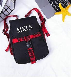 Leng QL Personality Backpacks Creative Letter Children's Shoulder Bag Schoolbag Casual Backpack