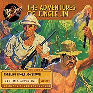 The Adventures of Jungle Jim, Volume 1 cover art