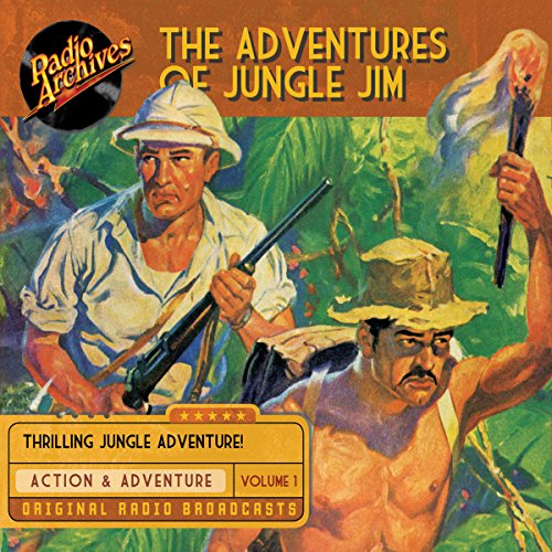 The Adventures of Jungle Jim, Volume 1 cover art