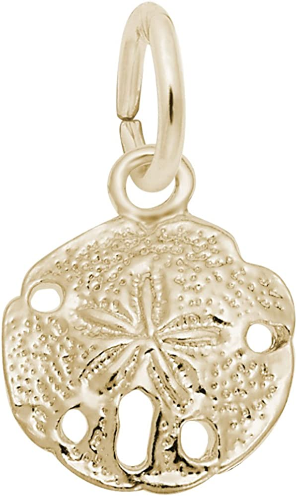 Sand Dollar Charm, Charms for Bracelets and Necklaces