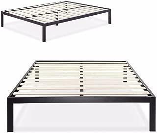 Zinus Modern Studio 14 Inch Platform 3000 Metal Bed Frame / Mattress Foundation / no Boxspring needed / Wooden Slat Support / Good Design Award Winner, Full
