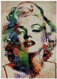 Marilyn Monroe contó kits de punto de cruz 180x247 punto 43x55 cm contado kits de punto de cruz