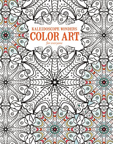 Kaleidoscope Wonders: Color Art for Everyone-24 Kaleidoscope Inspired Artistic Designs featuring Mirrored and Variegated Adult Coloring Patterns