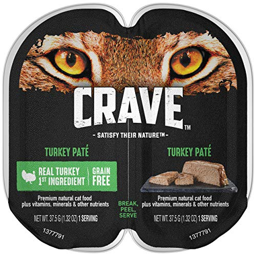 Crave Grain Free High Protein Wet Cat Food Trays | Chewy