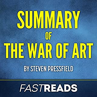 Summary of The War of Art by Steven Pressfield | Includes Key Takeaways & Analysis cover art