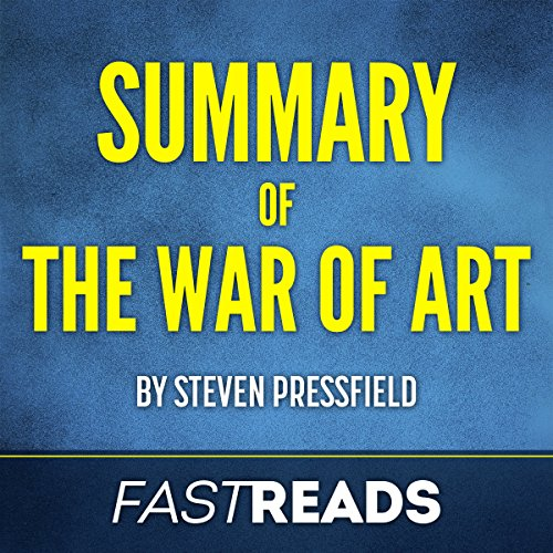 Couverture de Summary of The War of Art by Steven Pressfield | Includes Key Takeaways & Analysis