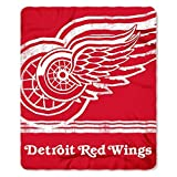 Northwest 031 NHL Detroit Red Wings Fade Away Printed Fleece Throw, 50 60-inch