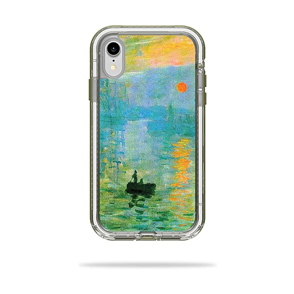 MightySkins Skin Compatible with LifeProof Next iPhone XR Case - Impression Sunrise | Protective, Durable, and Unique Vinyl Decal wrap Cover | Easy to Apply, Remove | Made in The USA xfu8857138