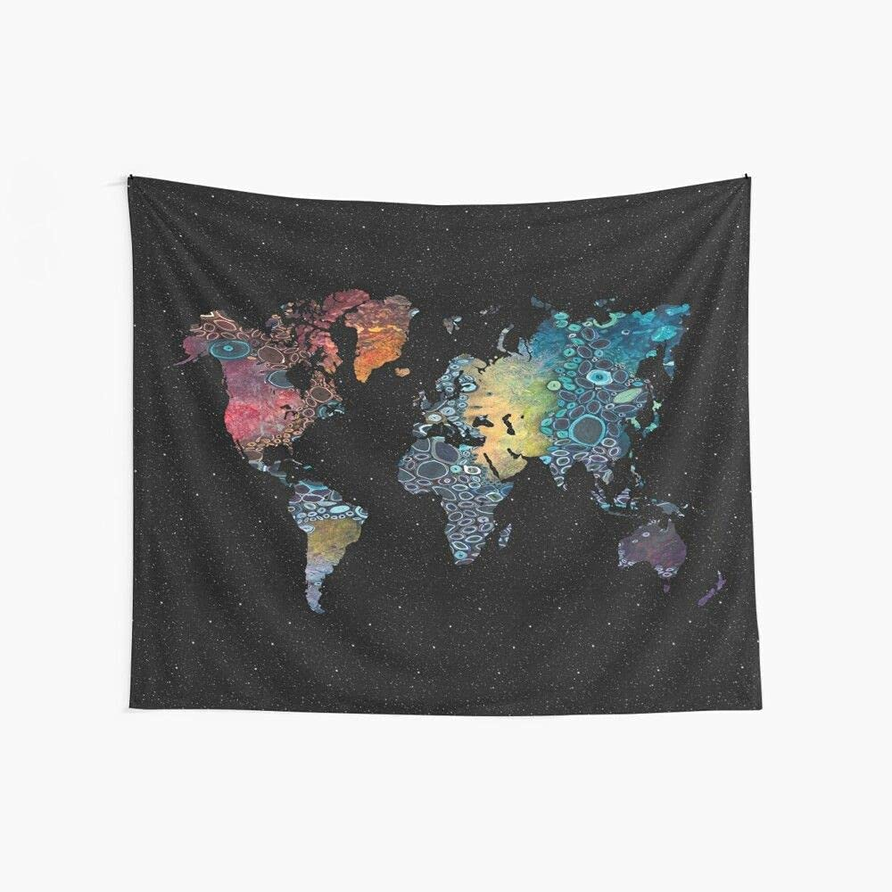 Colorful Marble Abstract Trippy White Black M Galaxy World Stars National uniform Ranking TOP14 free shipping