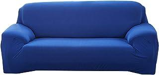 مرونة أريكة غطاء الأريكة القابل للتوسيع غطاء الأريكة الأريكة المختصرات الصلبة اللون واحد/اثنان/ثلاثة/أربعة مقاعد L يجب شرا...