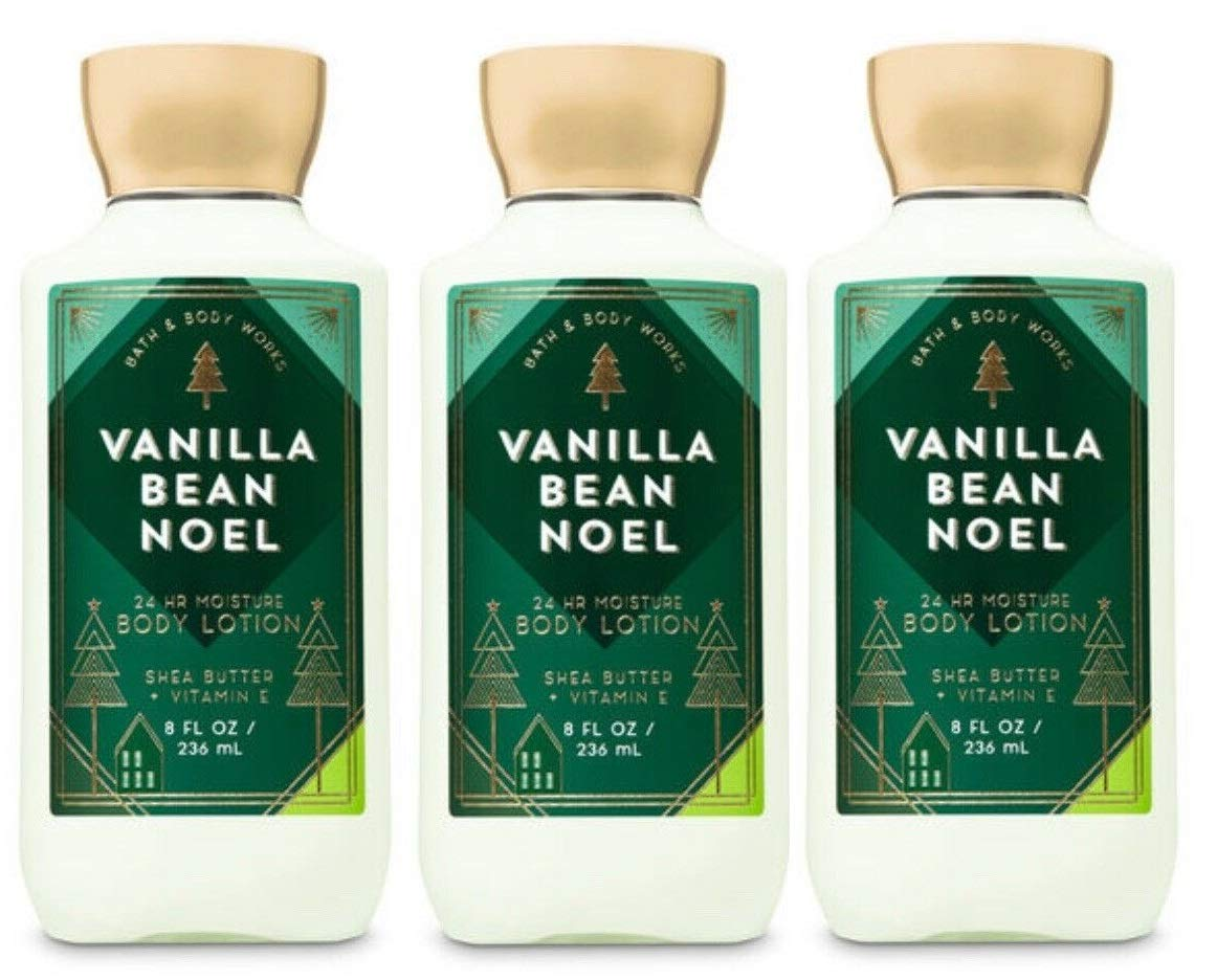 Bath and Body Works Vanilla Bean L Lotion - Special Limited time for free shipping price for a limited time Noel Value Pack