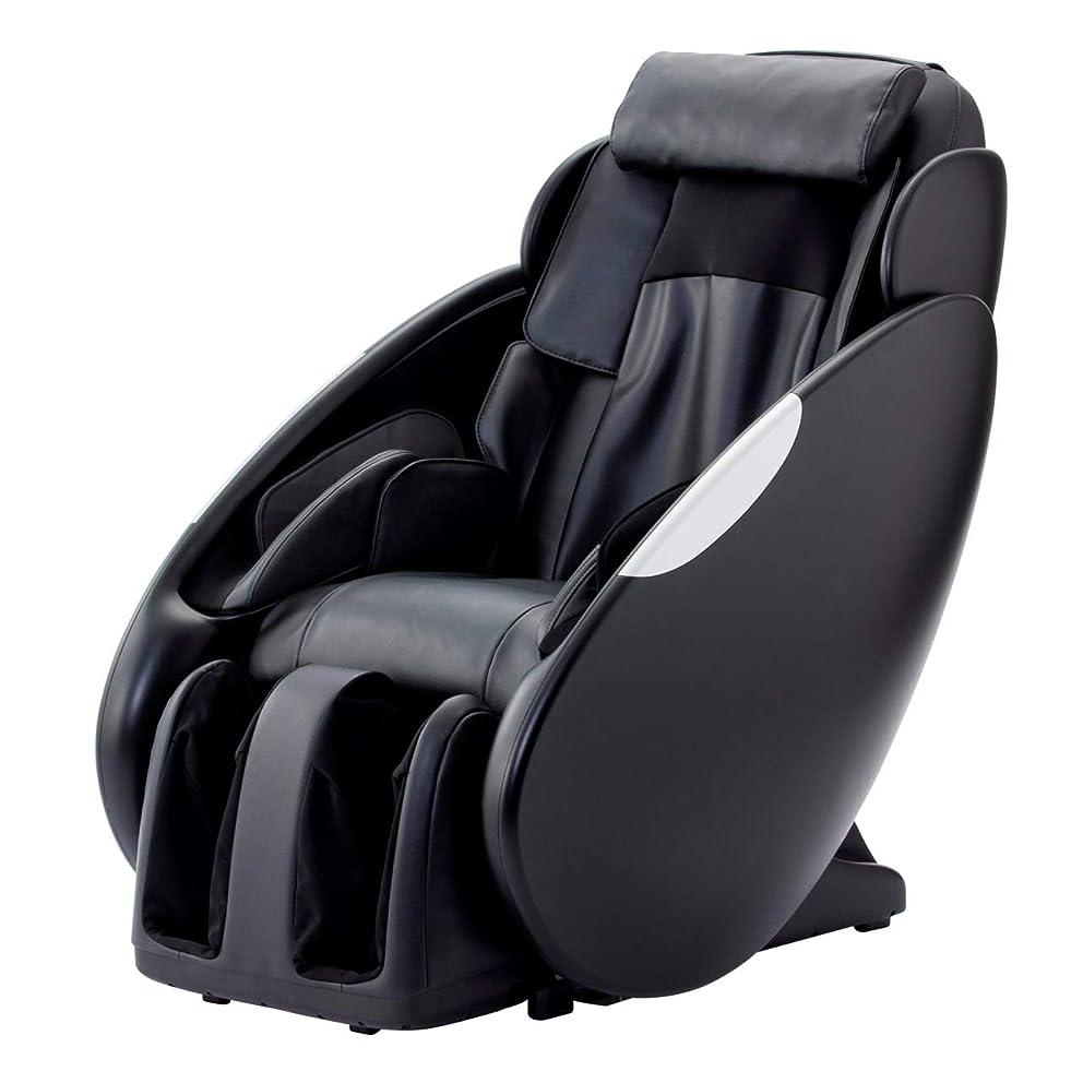 シングル予約ゴネリルスライヴ マッサージチェア 「腕エアーマッサージ搭載」 ブラック CHD-9200 BK