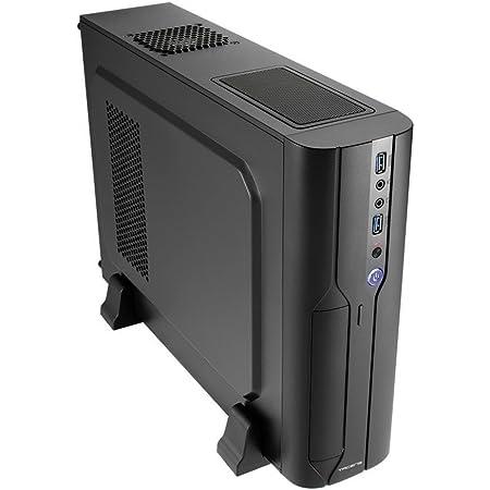 Tacens ORUM III, Caja de Ordenador Micro ATX, Ventilador Trasero 8cm, USB 3.0, Negro