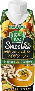 カゴメ 野菜生活100Smoothieかぼちゃとにんじんのソイポタージュ 250g ×12本