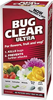 Bug Clear Ultra Concentrate Now For Fruit & Veg & Flowers Kills Bugs 200ML