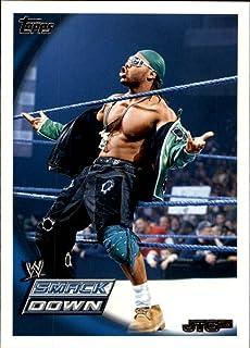 2010 Topps WWE Wrestling #13 JTG