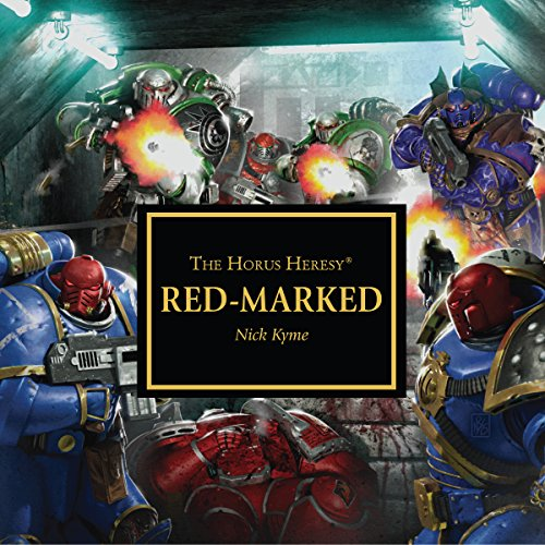 Red-Marked audiobook cover art