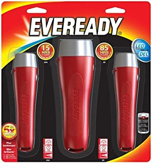 Eveready Led Flashlight (3 Pack)