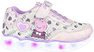 CERDÁ LIFE'S LITTLE MOMENTS Flickor ljus | Peppa Pig LED-skor officiell licens