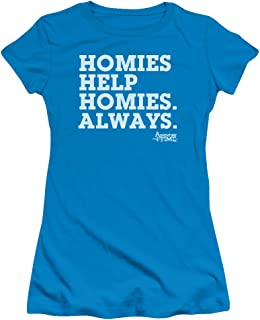 Adventure Time - Juniors Homies Help Homies T-Shirt