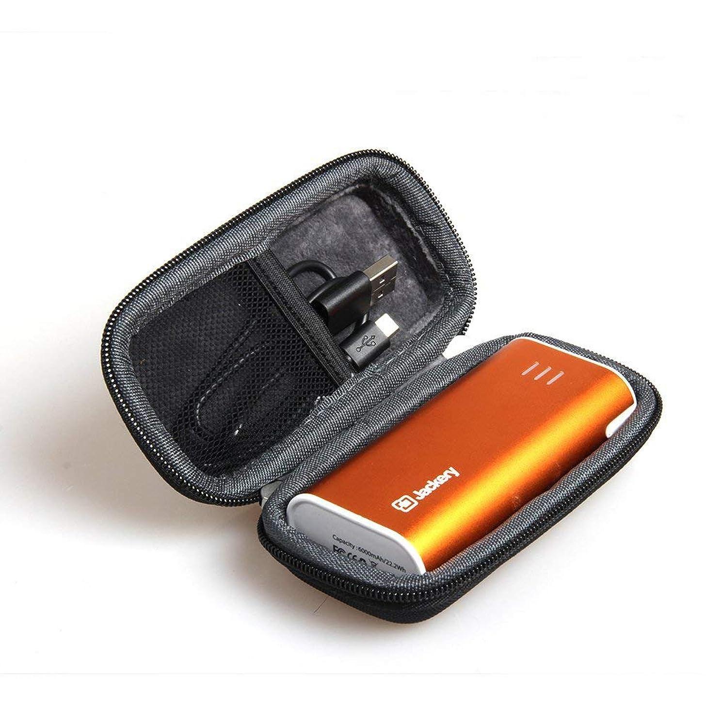 Hermitshell Hard EVA Travel Black Case Fits Jackery Bar Premium 6000mAh External Battery Charger Power Bank
