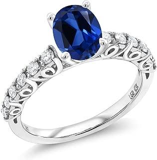Best 1.9 carat oval diamond ring Reviews