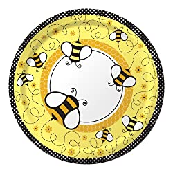 Bee Lunch Plates