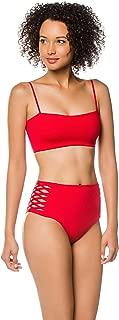 LSpace Women's LSolids Rebel Bandeau Bikini Top
