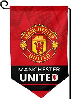 AQC16FC Football Club Flags Team Soccer Vertical Banner Flag Indoor and Outdoor Garden Flags Bar/Club/Bedroom Decoration Flags 12x18 Inches