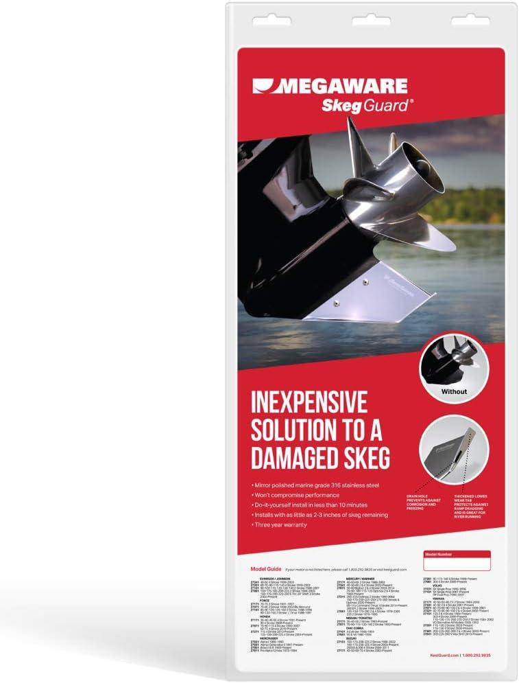 254-27031 Alpha Gen 1-2 Mercury Mercruiser New Stainless Steel Skeg Protector