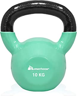 ケトルベル 4kg / 8kg / 10kg / 12kg / 16kg / 20kg ソフトなPVCコーティング 、ご家庭での利用に最適 体幹トレーニング 筋トレ