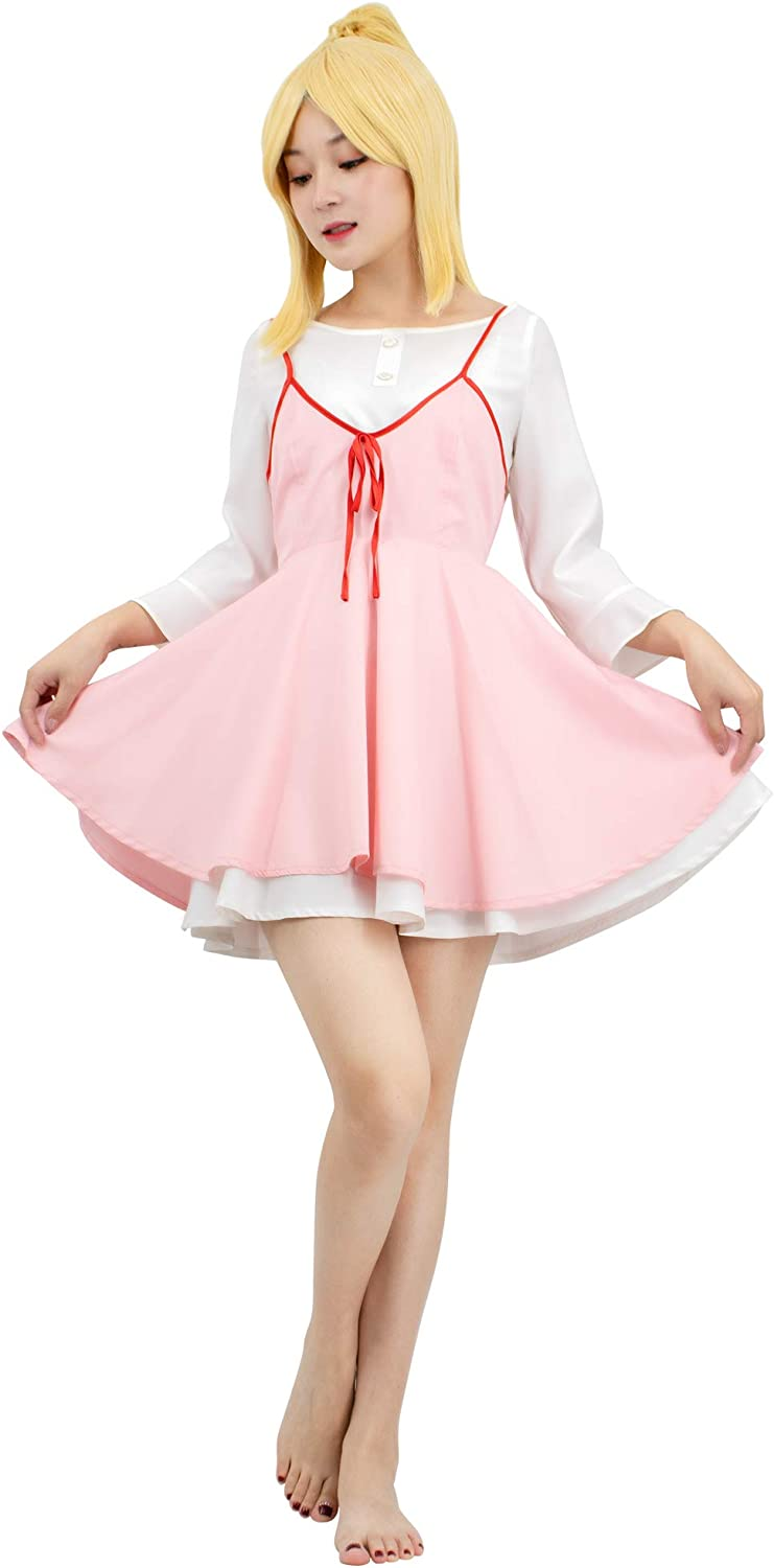 Regular store DAZCOS Womens Your Lie in Online limited product April Costume Kaori Cosplay Miyazono