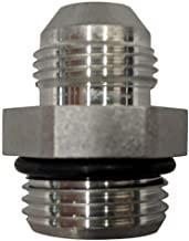 Brennan 3//4 in Male JIC 37/° Flare x 1-1//2 in Male O-Ring Boss 10 Units Straight Adapter