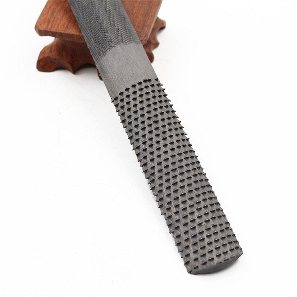Stanley 0-22-469 8-inch// 200mm Half Round Rasp Bastard Cut