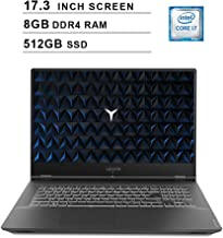 Lenovo 2019 Legion Y540 17.3 Inch FHD IPS Gaming Laptop (9th Gen Intel 6-Core i7-9750H up to 4.5 GHz, 8GB RAM, 512GB PCIe SSD, Nvidia GeForce GTX 1660 Ti, Bluetooth, WiFi, HDMI, Windows 10)