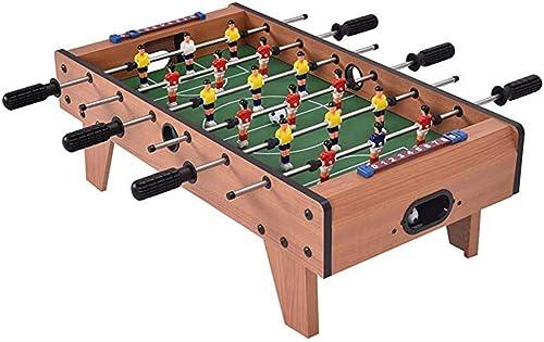 CAI-1 Mini Tischkicker, 27 Tischkicker Wettbewerb Tischkicker Set Spielzimmer Sport mit Beinen für Spielzimmer