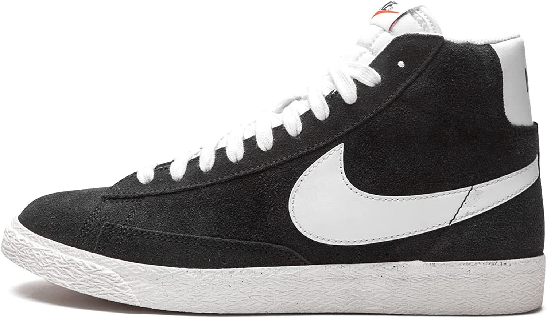 Nike Kid's Shoes Blazer Mid (GS) Black DA4672-001