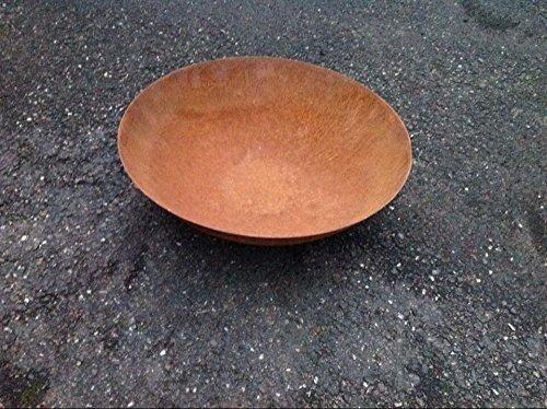 Zen Edelrost,Pflanzenschale,Feuerschale 35cm 2mm