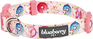 Blueberry Pet 10+ Patterns Sweet Dessert Dog Collars with Personalized Option