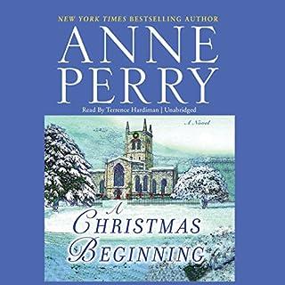 A Christmas Beginning  audiobook cover art