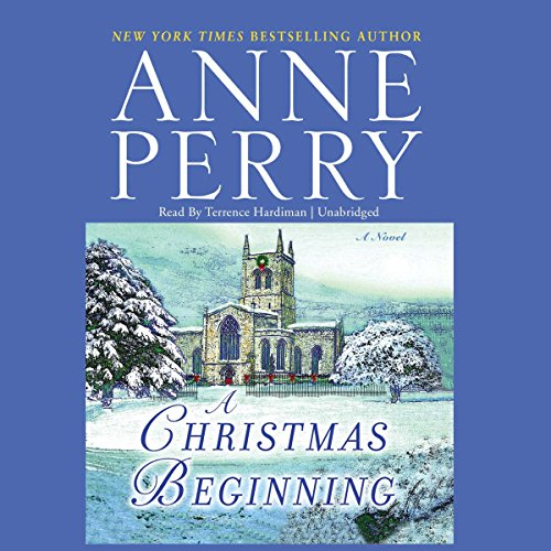 A Christmas Beginning  audiobook cover art