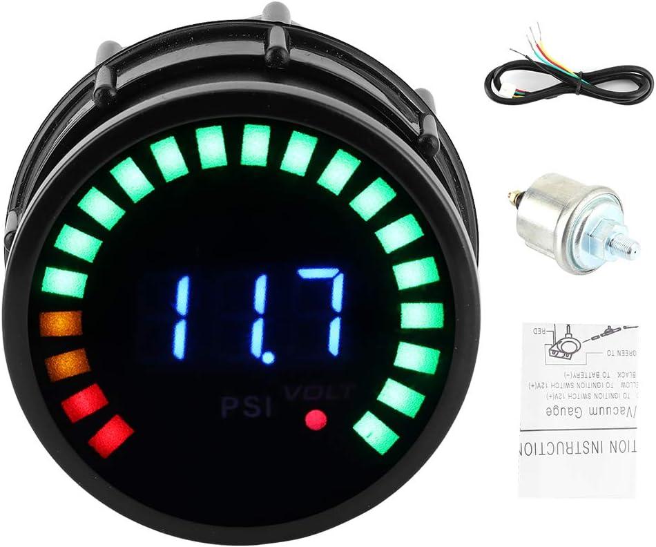 Hineges Digital Oil Pressure 0‑120 PS Gauge Popularity Meter Cheap